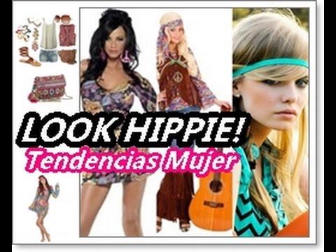 DISFRAZ HIPPIE Mujer | Tendencias Moda Hippie Chic
