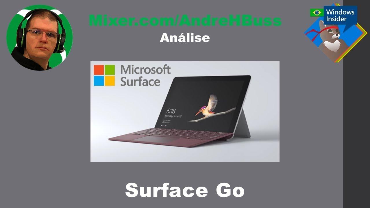 Análise Surface Go