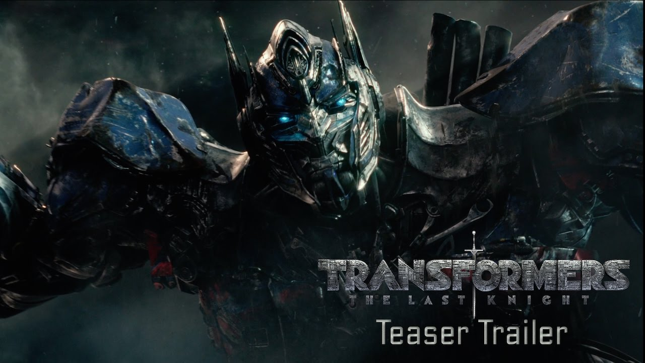 >Transformers: The Last Knight - Teaser Trailer (2017) Official - Paramount Pictures