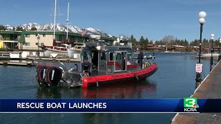 South Lake Tahoe launches rescue boat earlier than usual