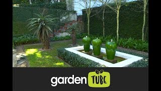 Formal Garden With Strong Lines