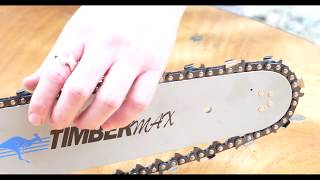 How to work what size chain your chainsaw takes