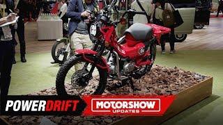 2020 Honda CT 125 : CT CT Bang Bang : 2019 Tokyo Motor Show : PowerDrift