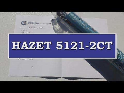 HAZET 5121-2CT - 20 bis 120 NM - 1/2 Zoll - Drehmomentschlüssel