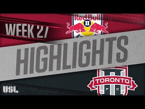 Нью-Йорк Ред Буллз-2 - Торонто 2 3:3. Видеообзор матча 14.09.2018. Видео голов и опасных моментов игры