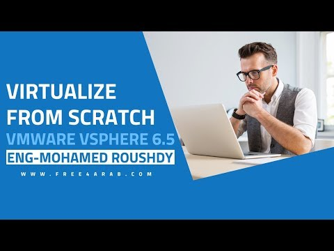 ‪06-Virtualize From Scratch | VMware vSphere 6.5 (Deploy Your First VM Part 1) By Eng-Mohamed Roushdy‬‏