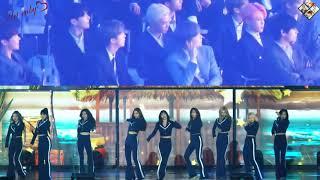 20190424 BTS's Reaction To Twice Performance @ TMA