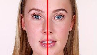 SIDE BY SIDE: Ultra Natural vs. Natural Makeup | Lauren Curtis