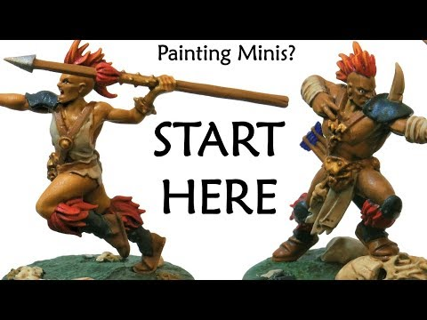 FUNDAMENTALS!A Complete Guide to Painting Minis.