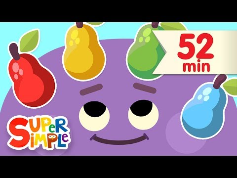 Red Yellow Green Blue | + More Kids Songs | Super Simple Songs