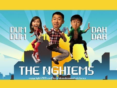 The Nghiems- 'Dum Dum Dah Dah' Stop Motion Music Video