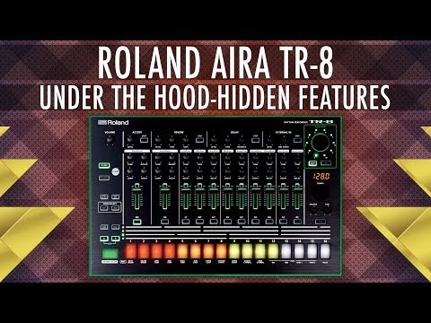 roland aira tr 8 hidden features jim atwood in japan. Black Bedroom Furniture Sets. Home Design Ideas