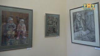 Первая персональная выставка В  Тимохиной