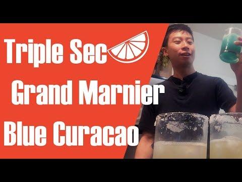Triple Sec vs Grand Marnier vs Blue Curacao – Making Margarita for Science