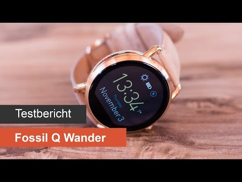 Fossil Q Wander im Test & Hands-On [Deutsch]