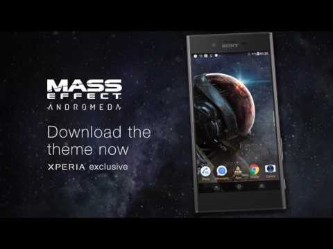 Vídeo do XPERIA™ Mass Effect™ Theme