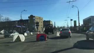 Ремонт дороги на улице Луговая / Road repair on the street meadow