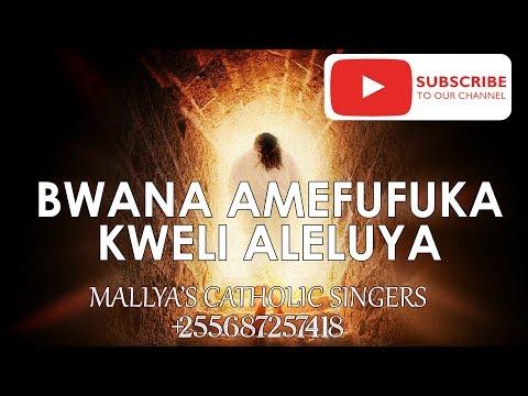 BWANA AMEFUFUKA KWELI ALELUYA - NYIMBO ZA PASAKA