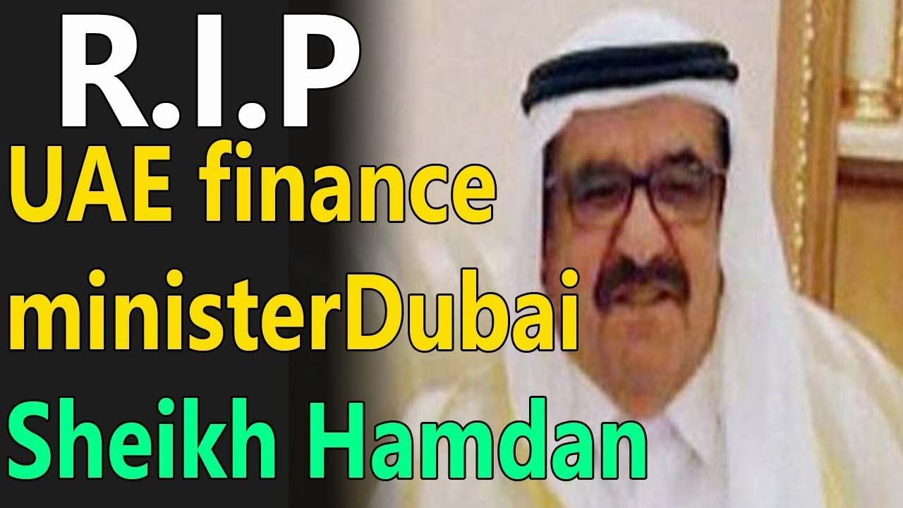 RIP UAE financing ministerDubai Sheikh Hamdan