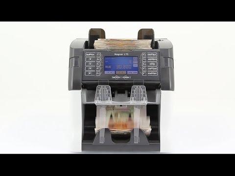 Видеообзор счетчика банкнот Magner 175 Digital