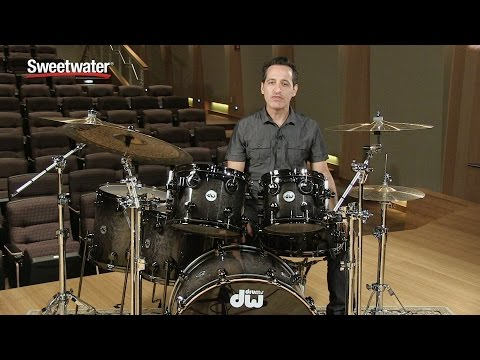 DW Collector's Series Exotic 6-Piece Drum Kit Review – Sweetwater Sound