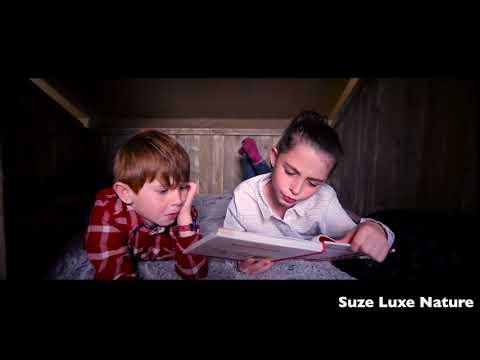 Lodge insolite et familial : parents et enfants heureux