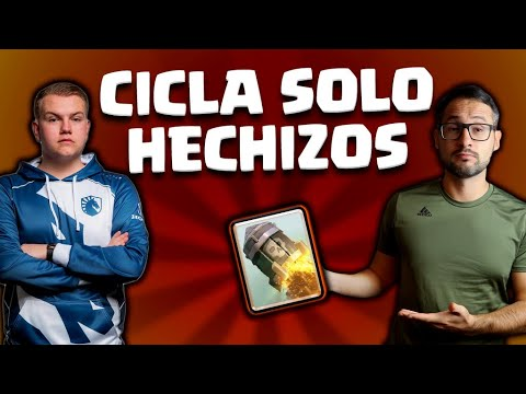 CICLO DE SOLO HECHIZOS DE SURGICAL GOBLIN ¡FUNCIONA!   Malcaide Clash Royale