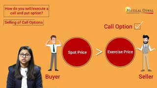2. Call and Put Option in Options Trading – How to sell a Call and Put Option