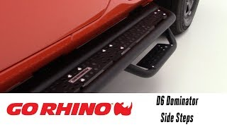 In the Garage™ with Total Truck Centers™: Go Rhino D6 Dominator Side Steps