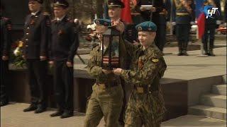 В канун Дня Победы у стелы «Город воинской славы» состоялся торжественный митинг