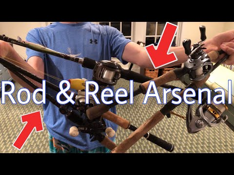 MY 2019 ROD AND REEL ARSENAL!