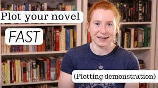 How to Plot Your Novel FAST | Writing Advice