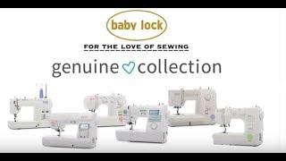 Baby Lock Accomplish Sewing Machine - From the Genuine