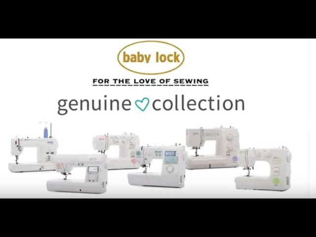 Baby Lock Joy Sewing Machine - From the Genuine Collection
