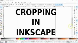 Inkscape Cropping - Crop Image Crop To Content