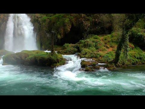 Entspannungsmusik - Entspannenden Wasserfall - Meditationsmusik
