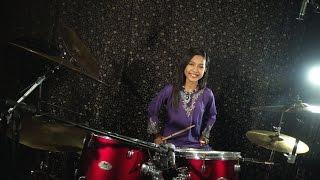 Khalifah   Hang Pi Mana ( Drum Cover By Nur Amira Syahira )