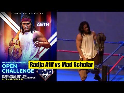 MyPW Evo 1 : A-5th vs Mad Scholar - MyPW Wrestlecon Title Match