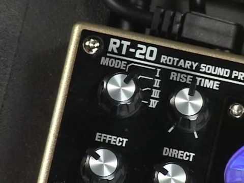 BOSS RT 20 Kytarový efekt