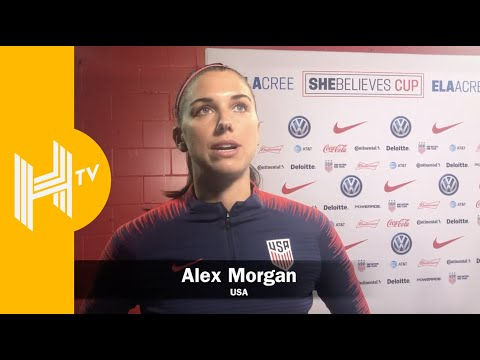 SheBelieves Cup | Alex Morgan interview