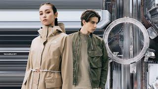 俐落剪裁的時尚感造型|THE NORTH FACE UE 春夏膠囊系列「Transform Gear」正式上市!