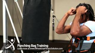 Wheelchair Fitness Solution | Exercise: Punching Bag Training (10 of 40)