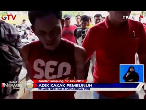Polisi Tangkap Kakak-Beradik Pelaku Pembunuhan di Bandar Lampung - BIS 18/06