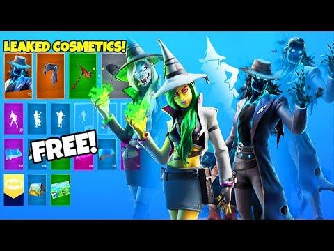 *NEW* Skins & Emotes..! (FREE Rewards, Deadeye, Haze, Pump it up LEAKED) Fortnite Battle Royale
