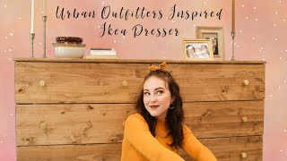 DIY Urban Outfitters Dresser For $200 | Ikea Flip
