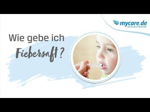 Nurofen Junior Fieber und Schmerzsaft
