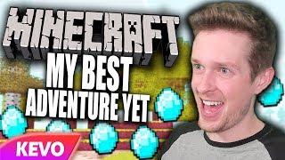Minecraft but I go on my best adventure yet
