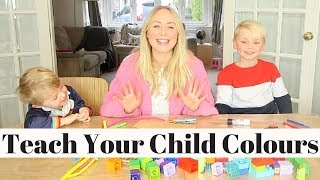Learn Colours With LEGO DUPLO Bricks | Educational Crafts For Kids AD