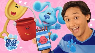 New Series: Blue's Clues & You 🔍 Josh Is A Clue! + Skidoo W Shovel & Pail | Nick Jr.
