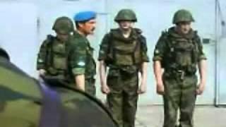 Смотреть онлайн Командир ВДВ смешно вычитывает своих пьяных солдат